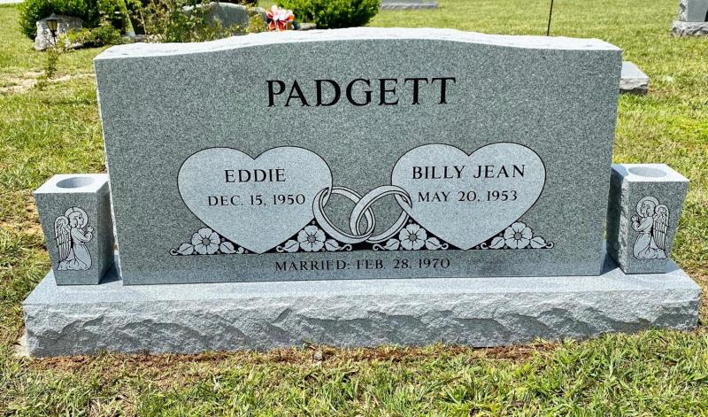 The Monument of Eddie and Billy Jean Padgett