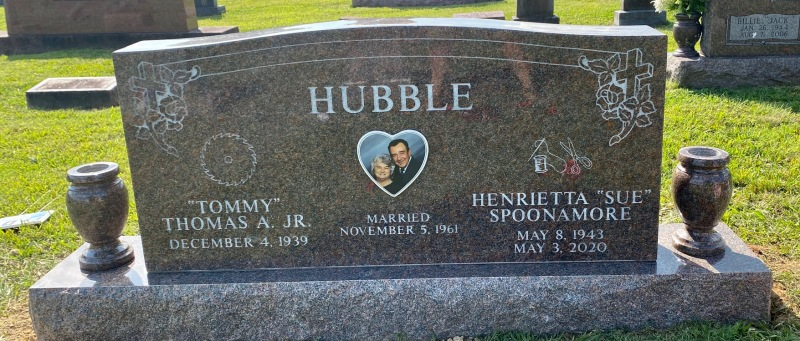 The Monument of Tommy and Sue Hubble