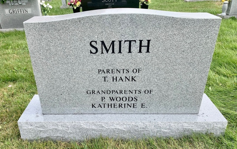 The Monument of Hank and Vicky Smith