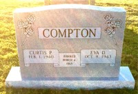The Monument of Curtis P. & Eva D. Compton
