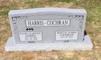 The Monument of Ralph Clarence Harris & Rosetta Harris Cochr