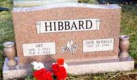 The Monument of Art & Jane McFalls Hibbard
