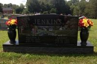 The Monument of William J. & Lillian Jenkins
