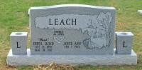 The Monument of Errol Lloyd Butch & Joyce Ann Leach