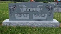 The Monument of Jerry K. Pyle, Sr. & Gwyneth C. Pyle