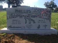 The Monument of Rocky L. & Paula S. Phillips