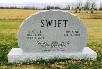 The Monument of Virgil L. & Ida Mae Swift
