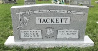 The Monument of Alben Barkley and Maxine Black Tackett