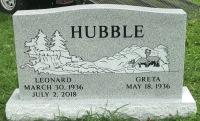 The Monument of Leonard and Greta Hubble