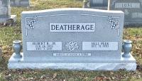 The Monument of Hubert B., Jr. & Nell Peek Deatherage
