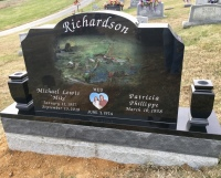 The Monument of Michael L. and Patricia Phillippe Richardson
