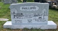 The Monument of Murrell & Reba Hatter Phillippe