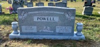The Monument of Lester and Bonita Denny Powell