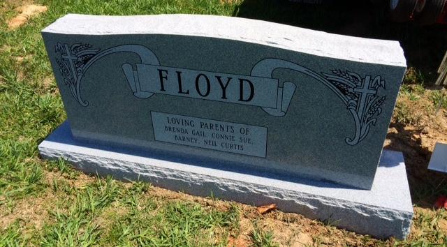 The Monument of Lloyd Conrad, Joanna Hatter, & Garland