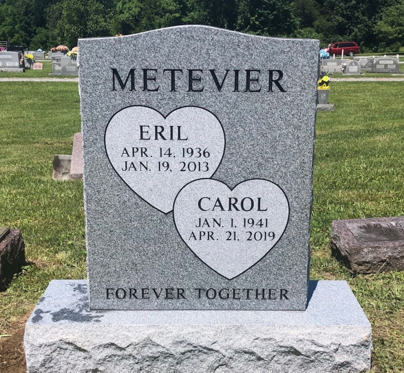The Monument of Eril and Carol Metevier