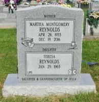 The Monument of Martha Montgomery Reynolds & Teresa Reynolds