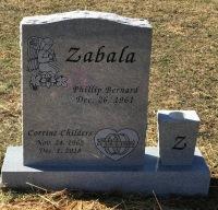 The Monument of Phillip Bernard and Corrine Childers Zabala