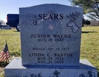 The Monument of Junior Wayne and Linda C Bastin Sears