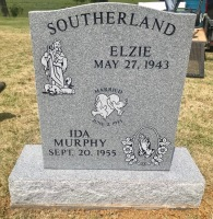The Monument of Elzie and Ida Murphy Southerland