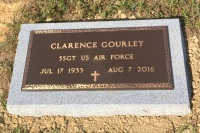 The VA Foot Marker for Clarence Gourley