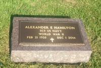 The VA Foot Marker for Alexander E. Hamilton
