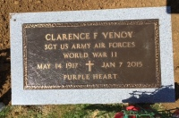 The Monument for Clarence F. Venoy