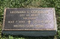The Monument of Leonard G. Gooch, Jr.