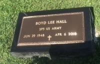 The VA Marker of Boyd Lee Hall