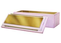 Bronze Pink White Bar Handles