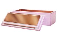 Lydian Pink White Bar Handles