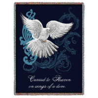 Wings of a Dove Tribute Blanket
