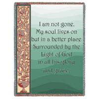 My Soul Lives On Tribute Blanket