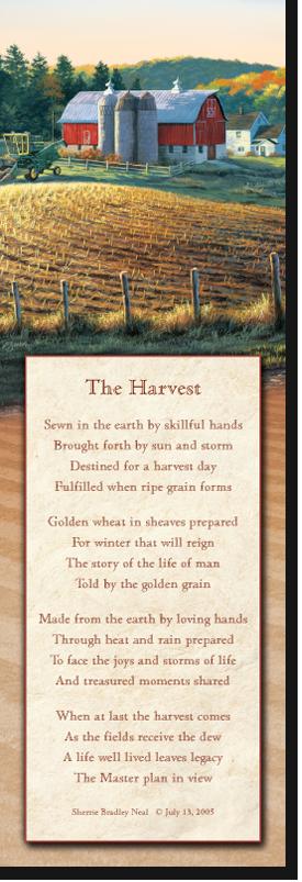 Autumn Harvest Register Book Package