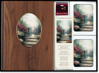Garden of Promise Walnut & Ceramic Register Book Package