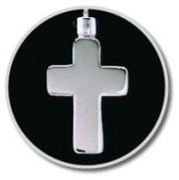 Silver Cross Keepsake Pendant