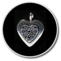 Sterling Silver Filigree Heart