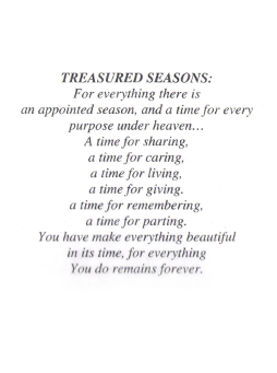 Treasured Seasons