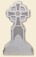 Cross Upright Gray Monument