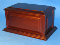 Traditional Solid Rosewood Urn