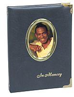 Premium Blue Photo Register Book