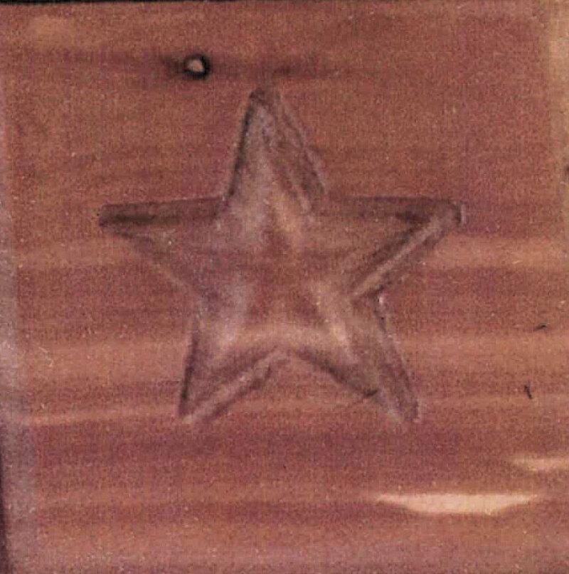 Square Wood Box Urn w/Paw Imprint