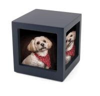 Navy Photo Cube (XS)
