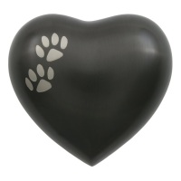Arielle Slate Heart Paw Urn