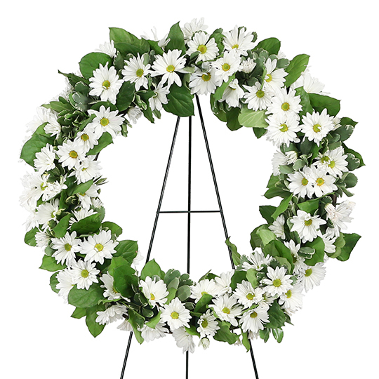 Grandmother's Garden Remembered Wreath