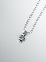 Sterling Silver Filigree Cross Pendant