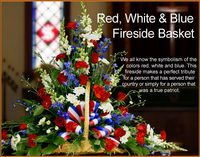 Red, White and Blue Fireside